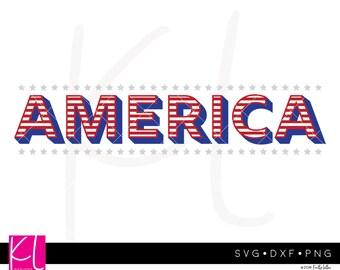 America svg, 4th of July svg, Patriotic svg, Forth of July svg, Memorial Day svg, USA svg, Independence Day svg, American Flag svg