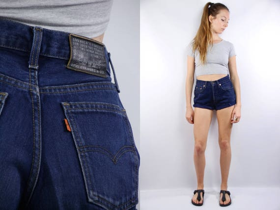 Levis Jean Shorts / Levis Shorts / Levis High Waist / Levis Denim Shorts / Levis Vintage Shorts / Levis 501 Shorts / Levis Blue Shorts Levis