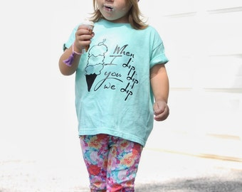Ice cream shirt, summer shirt, baby girl clothes, baby boy clothes, funny kids tee, summer shirt, trendy kids clothes, hipster baby, toddler