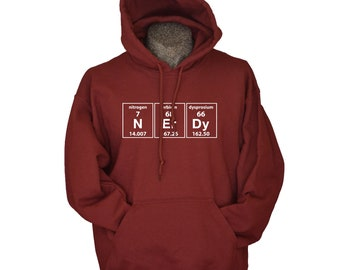 Science hoodie periodic nerdy chemistry geekery elements men women youth teen hoodies geek clothing science gift Ln14WkFYpw