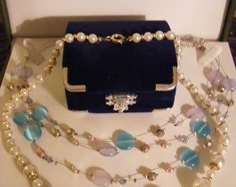 Vintage Faux Pearl Necklace Plus Pretty Necklace