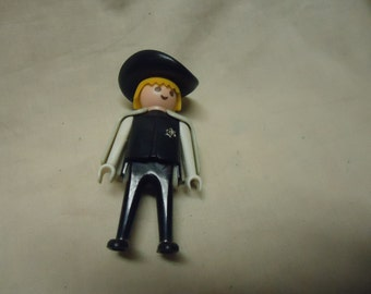 Vintage 1974 Playmobil Geobra Sheriff Action Figure, collectable