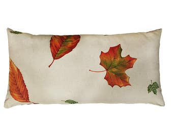 Autumn Leaf Pattern Pillow Cover