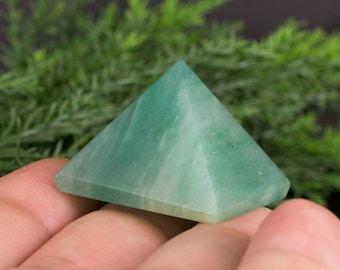 Pyramid Shaped Green Aventurine