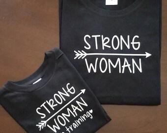 Strong Woman Shirt Set (2 shirts)