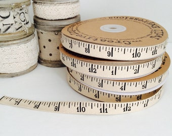 "Measuring Tape Twill (1/2"" Wide, not a true measurement)"