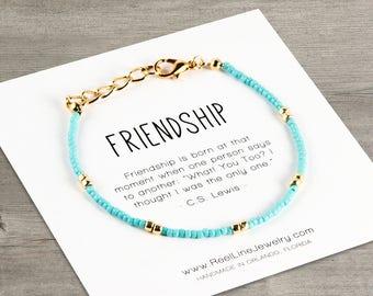 Friendship GOLD Boho Bracelet, Best Friend Bracelets, Friendship Bracelet, Best Friend Gift, Best Friend Friendship Bracelet