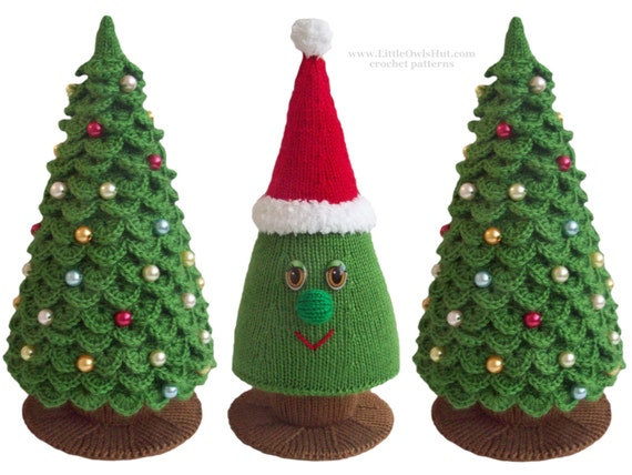 009 Knitting Branches Are Crochet Pattern Christmas Tree
