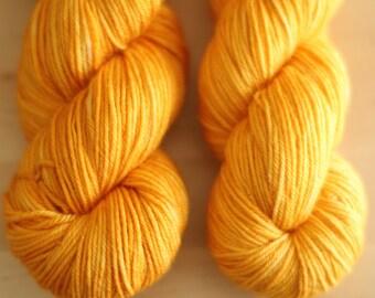 Butterscotch - Bluefaced Leicester Luster Wool, DK weight 100 g