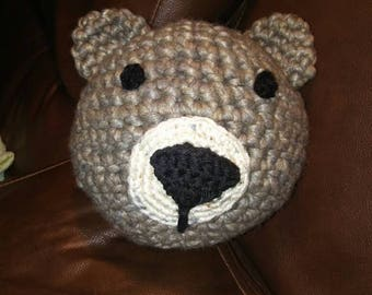 Hug-a-Ball Teddy Bear Plush Crochet Ball Pet