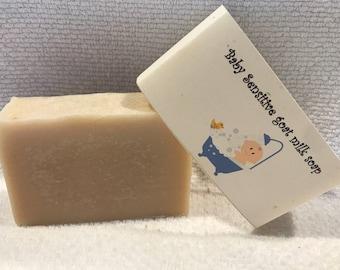 Baby Sensitive homemade goat milk soap