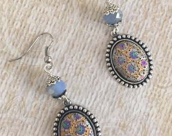 Cab Earrings, Handmade Earrings