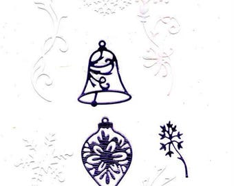 260 - 7 cut-out scroll work for your cards or cake