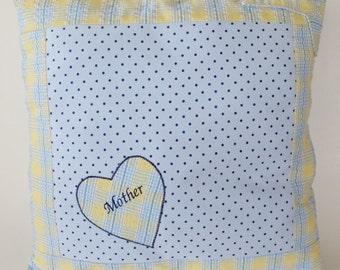 Custom Memory Pillow Cover - Pajama Memory Pillow - Embroidery