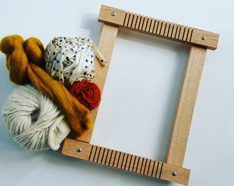 Small Loom Made From Oak