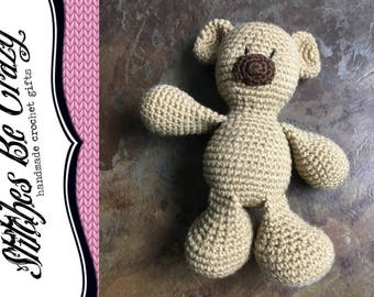 Crochet Bear - Free Shipping