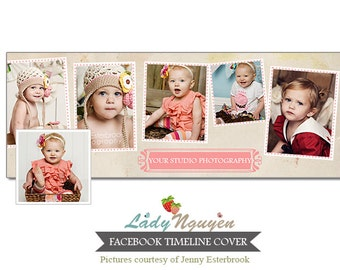 INSTANT DOWNLOAD Facebook timeline - Template for photographers - F057