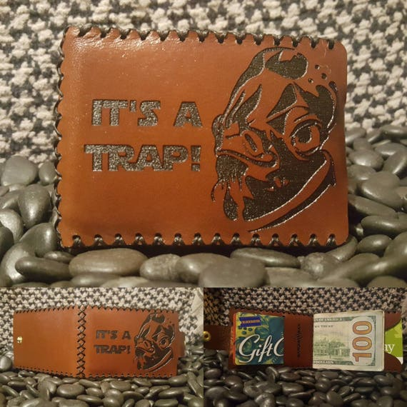 It's a Trap Bifold wallet made from Premium English Bridle leather.