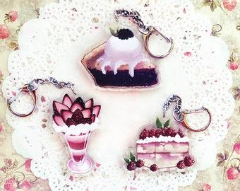 Keychains: Desserts