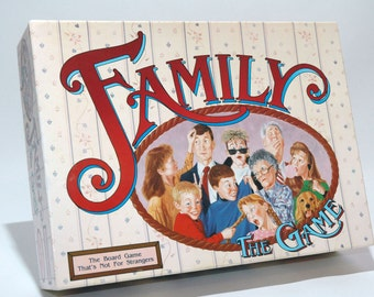Family the Game from TDC Games 1990