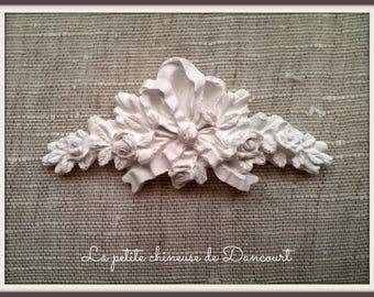 Decorative plaster romantic frieze