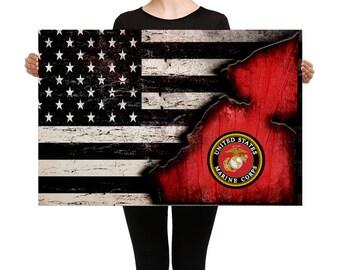 United States Marine Corps Canvas