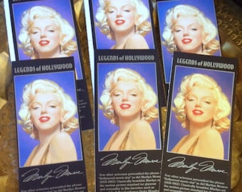 Marilyn Monroe Lot of 6 images good for paper crafts