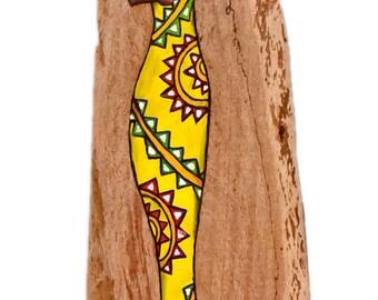 Subconscious craving for return - Oil Painting - Mukwa wood
