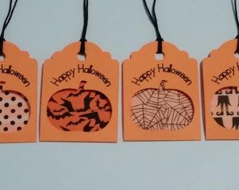 20 Happy Halloween Gift Tags
