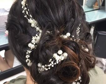 PEGGY - Pearl Hair Vine