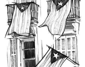 Day 3 Print: 27-S (Catalan flags)