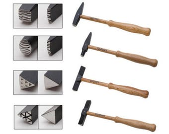 Artisan's Mark 4 piece texture hammer set