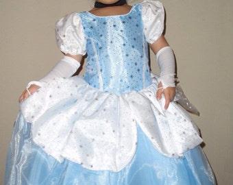 Cinderella dress,  Cenicienta , Cinderella Costume