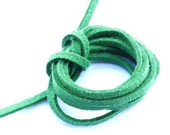 Cord suede Pine Green