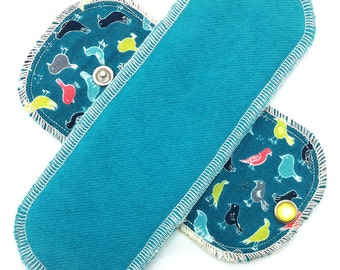 Organic Limited Edition - Daypad Moonpads Cotton Washable Reusable Cloth Menstrual Pads - Portlandia
