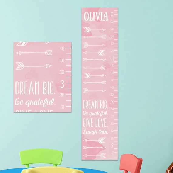 Personalized Canvas Growth Charts Heartpulsar