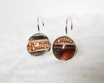 Dungeons & Dragons Dungeon Master Earrings