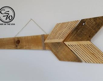 Arrow Wall Art, Reclaimed Wood Arrow, Farm Arrow Decor, Rustic Arrow Decor, Reclaimed Wood Arrow, Pallet Wood Arrow