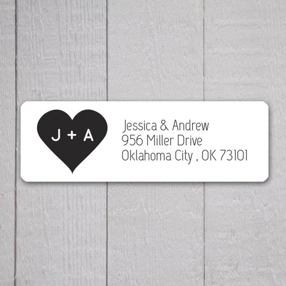 Wedding address label selol ink wedding address label stopboris Gallery