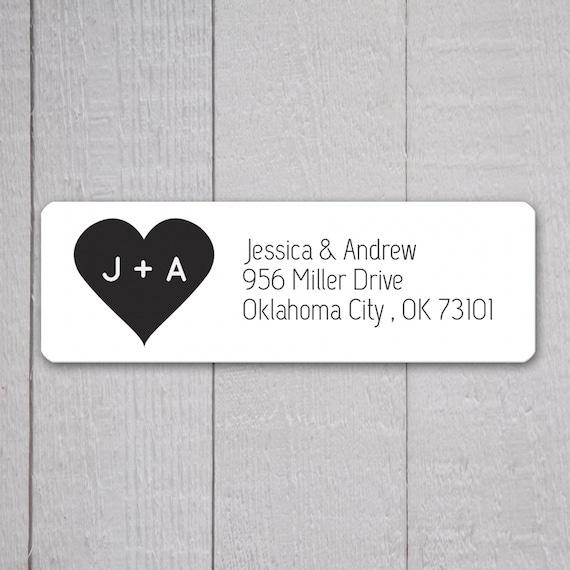 Good Wedding Invitation Return Address Labels Wedding Stickers