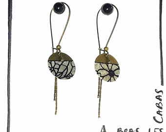 Earrings swann