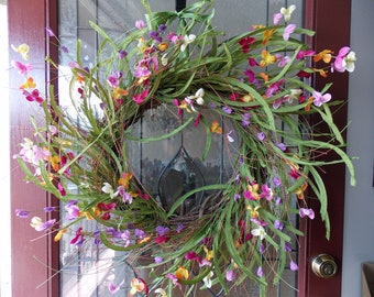 Spring Wreath-Spring Wreaths for Front Door-Spring Door Wreath-Easter Wreath-Easter Wreaths For Front Door-Summer Wreath-Summer Wreaths