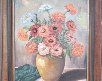 Original Oil on Canvas by K. Kugler 1948 - signed