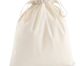 ORGANIC Cotton Produce Bags. Produce Bag. Reusable. Zero Waste. Plastic Free.