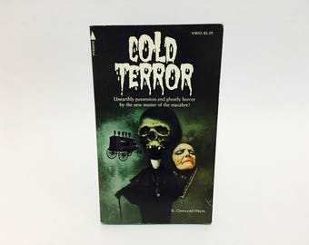 Vintage Horror Book Cold Terror by R. Chetwynd-Hayes 1975 Paperback Anthology