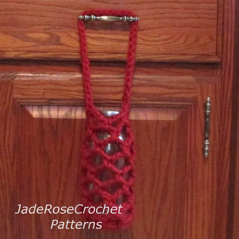 Crochet Bottle Holder Pattern Bottle Cozy Crochet Pattern