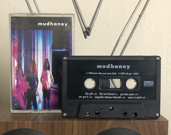 Mudhoney 1989 Vintage Audio Cassette tape- Alternative-Grunge-Subpop-Seattle