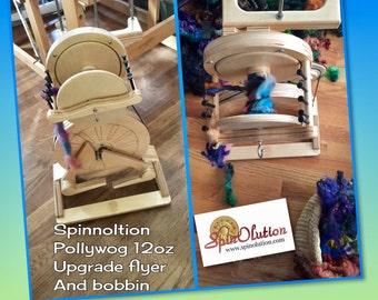 Spinolution Upgrade for Pollywog 12 oz flyer with bobbin  :Saorisantacruz