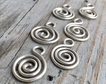 Sterling Silver S Shaped Finding Handmade Sterling Silver Jewelry Findings