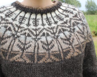 Sweater made of pure Icelandic wool.